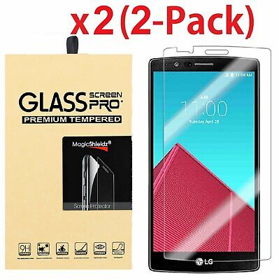 2-Pack Ultra Thin HD Premium Tempered Glass Screen Protector Film For LG G4 Cell Phone Accessories