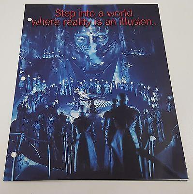 Dark City 1998 Original Press Kit / Booklet