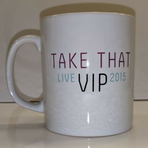 Take That Live 2015 Tour VIP Mug