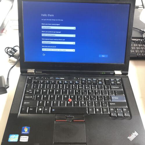 Laptop Windows - Lenovo Thinkpad T420 Laptop Including Docking Station.