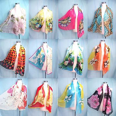 *US Seller* lot of 10 Wholesale Fashion Scarves chiffon scarf wrap shawl