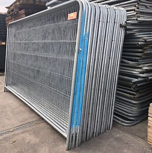 Heras Fencing Panels ~ Temporary Site Security ~ Used