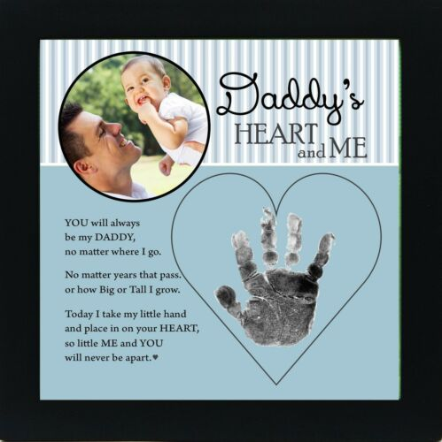 Baby Child Keepsake Handprint Frame with Poetry - Daddy Grandparent Gift Co. NEW