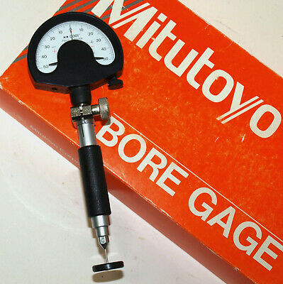 Mitutoyo Small Hole Bore Gage Set .037-.061 With Setting Rings Split Ball Probe