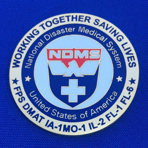 National Disaster Medical System Hurricane Katrina 2005 NDMS OEM Challenge Coin