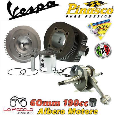 Set Pinasco Thermal Unit 190 Crankshaft 60mm Vespa Px 150
