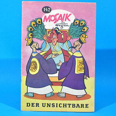 Mosaik 142 Digedags Hannes Hegen Originalheft DDR Sammlung original MZ 11