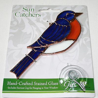 Bluebird Stained Glass Suncatcher Bluebird Stained Glass Suncatcher