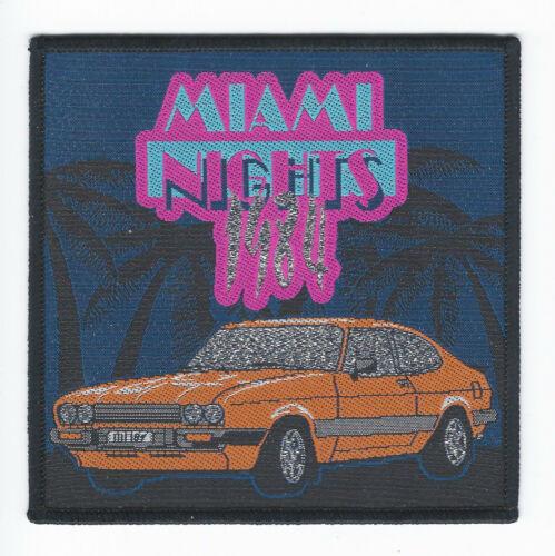 Miami Nights 1984 Patch synthwave-ocean dive-lazerhawk-mitch murder-perturbator