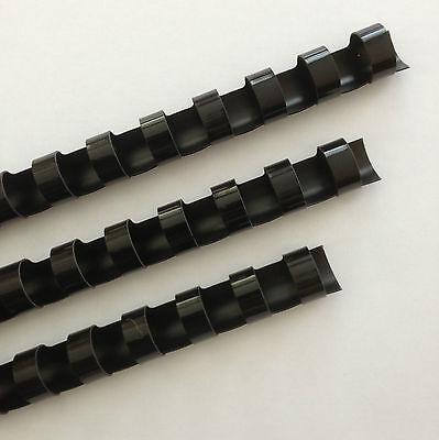 716 Plastic Binding Combs - Black - Set Of 25