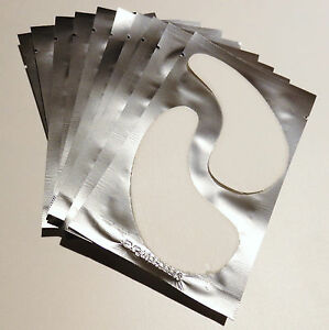 Collagene-Gel-Eye-Assorbenti-X-50-Ciglio-Estensioni-Senza-Pelucchi-VENDITORE-UK