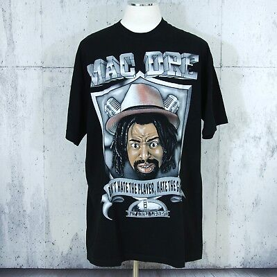 "Vtg MAC DRE ""Don't Hate the Player"" T Shirt XXL Hip Hop Bay Area Legend, used for sale  Pacific Grove"