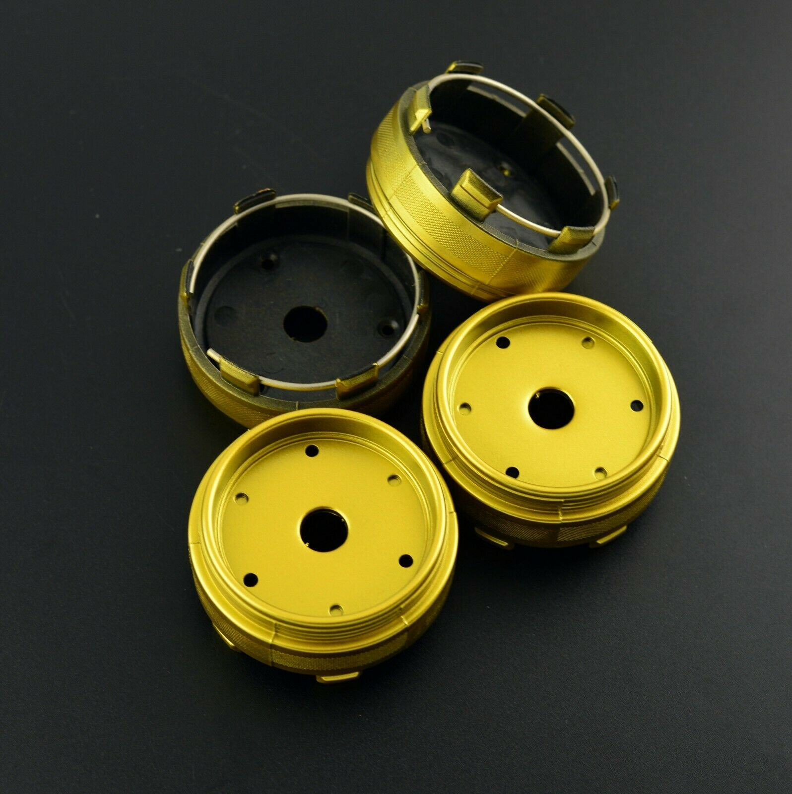 """4pcs 2 19//32in Wheel Center Caps for CE28n Time Attack 17/"""" ZE40 TE37 F150 18/"""""""