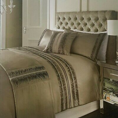 Karina Bailey Rome Pleated and Diamante 5 Piece King Bed Set