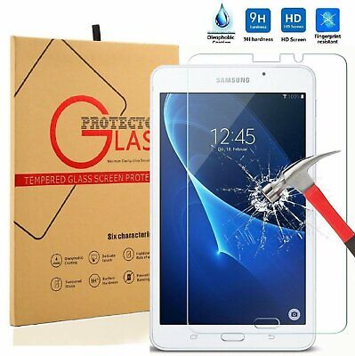 Tempered Glass Screen Protector For Samsung Galaxy Tab A 7.0 T280 Computers/Tablets & Networking