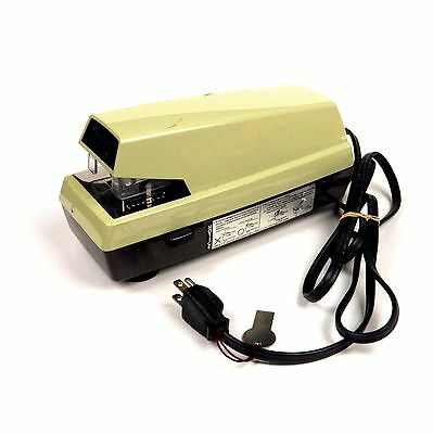 Vintage Panasonic Automatic Electric Stapler As-300 Adjustable Margin Japan