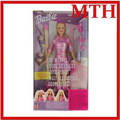 Barbie Cut 'n Style Doll 2002 Mattel 56891 12'' Vintage Boxed New - MINT