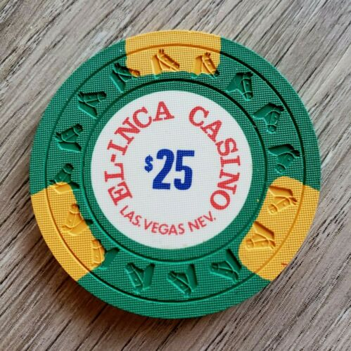 $25 Las Vegas El-Inca 1977 Casino Chip - Near Mint