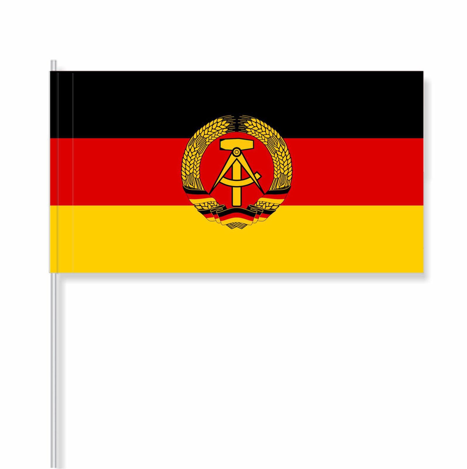 Papierfähnchen/Papierfahnen Deutsche Demokratische Republik (DDR) - FH