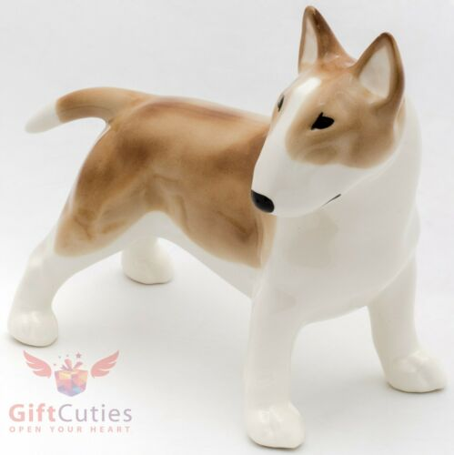Porcelain Figurine of the Pit Bull Terrier Dog