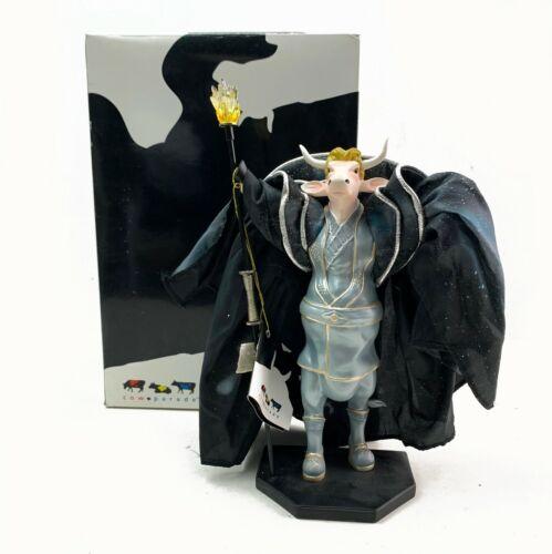 "Cow Parade 7280 Siegfried of ""Siegfried & Roy"" 2003 Retired Figurine Figure"