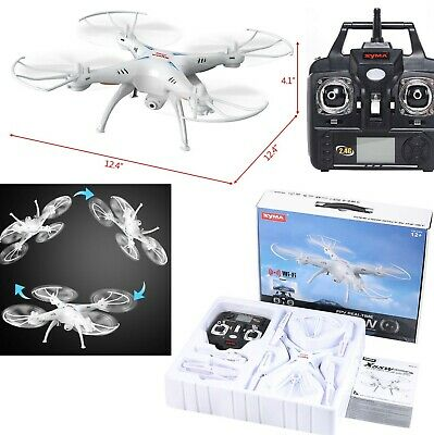 Quadcopter Drone Mini With HD Camera WiFi 4 Chanel Quadcopter Kit Beginner RC