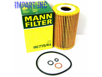 BMW 318i Z3 1.9 Oil Filter 11 42 1 432 097 MANN HU715/4x