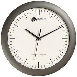 WT-3123A La Crosse Technology 12 Atomic Analog Wall Clock - Refurbished