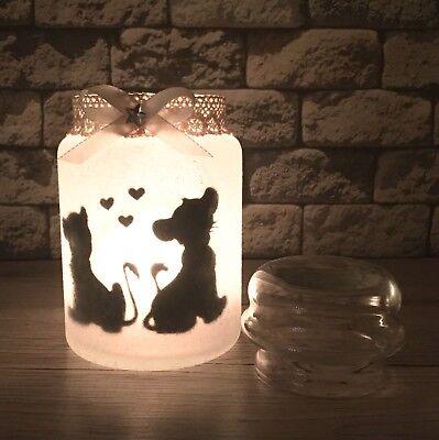 Lion King König der Löwen Simba Nala Lampe Laterne Teelicht (Nacht König)