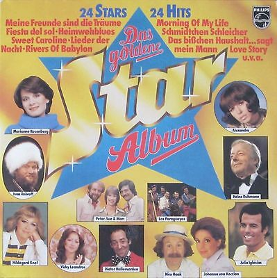 Das goldene Star-Album - 24 deutsche Stars und Hits (2 Philips Vinyl-LPS 1979)