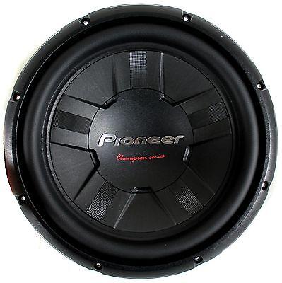 """PIONEER TS-W311S4 Champion Series 12"""" 1,400-Watt Subwoofer"""
