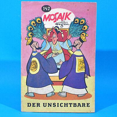 Mosaik 142 Digedags Hannes Hegen Originalheft DDR Sammlung original MZ 12