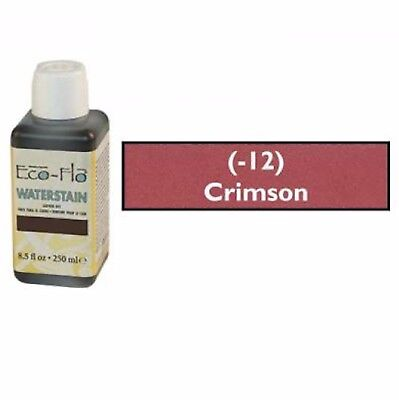 Eco Flo Professional Waterstain Crimson 250 ml (8.5 fl oz.) 2800-12 Tandy Dyes