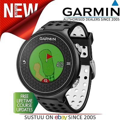 Garmin Approach S6│GPS Rangefinder Golf Watch│38000 Worldwide Golf Courses│Black