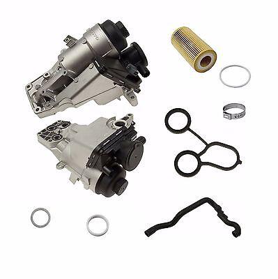 Volvo Oil Filter Housing Kit 31338685 Whistle Noise Oil Trap PCV 2.5 5-cylinder