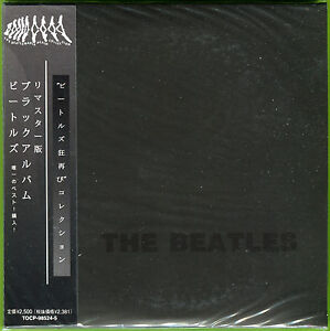 The Beatles THE BLACK ALBUM Gatefold mini LP 2CD Sealed w/OBI & 28-page booklet