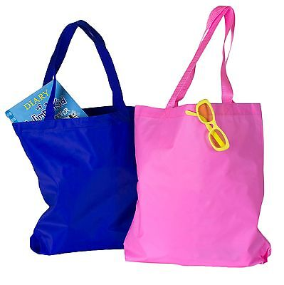 Lot of 12 Wholesale Blank Tote Bags Pink Blue Tote Bag