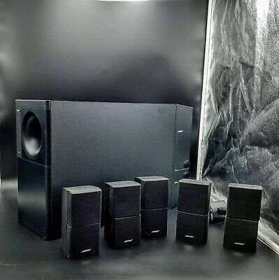 Bose Acoustimass 15 Series Home Theater Speaker System Subwoofer Complete Works