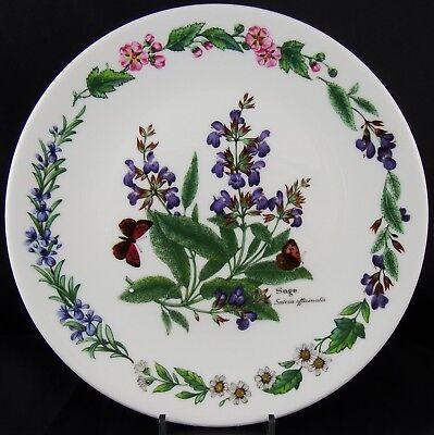 Royal Worcester Collectors Plate Herbs ~ Sage