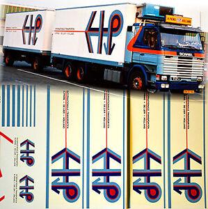 scania h prins de lier holland nl 1 87 truck decal lkw. Black Bedroom Furniture Sets. Home Design Ideas