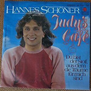 Sehr Gut - Single Hannes Schöner - Judy's Cafe - von 1980 Ariola!