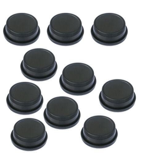 10 Packs x Rear Lens Covers + Camera Body Caps for Nikon DSLR D7100 D7000 D5100