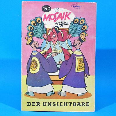 Mosaik 142 Digedags Hannes Hegen Originalheft DDR Sammlung original MZ 9