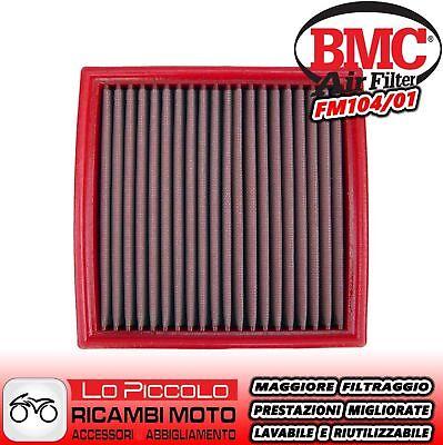FM104//01 FILTRO ARIA BMC DUCATI SUPERSPORT 900 SS 1991 2002 LAVABILE RACING SPORTIVO