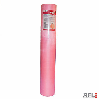 Bond It Woven Glass Fibre Rendering Render Mesh 160gsm 1Mx50M - 4x4mm Mesh