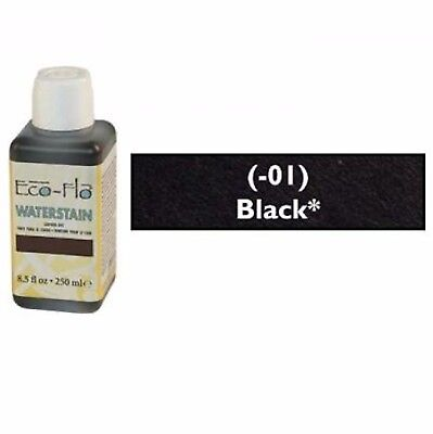 Eco-Flo Professional Waterstain Black 250 ml (8.5 fl oz.) 2800-01 Tandy Leather