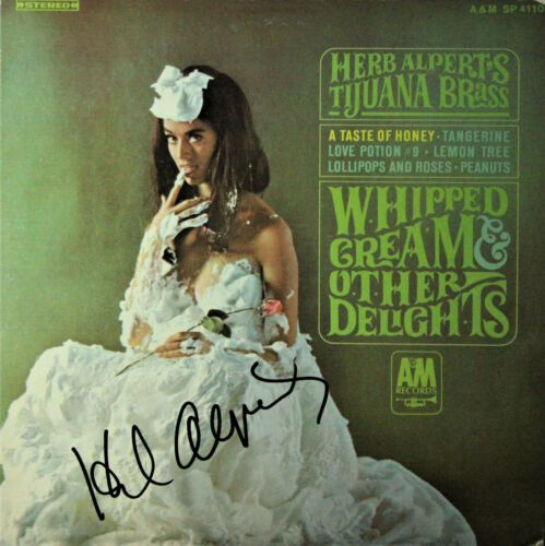 Herb Alpert Whipped Cream & Other Delights SIGNED Record