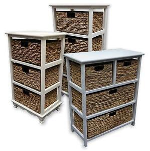 Wicker Storage Units EBay