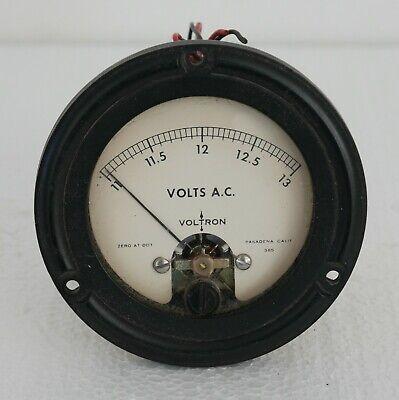 Vintage Voltron Model 131.939 Expanded Scale Ac Voltmeter