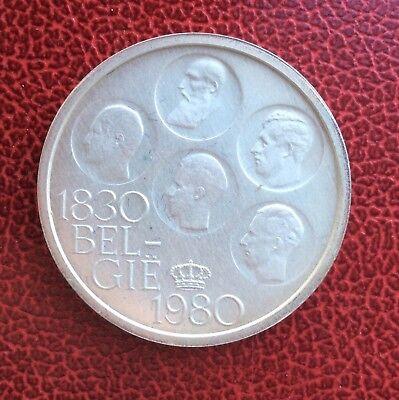 Belgique - Baudouin - Magnifique 500 Francs 1980 VL  - Proof en argent
